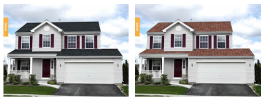 Sunnyside Roofing - Virtual Home Remodeler Tool